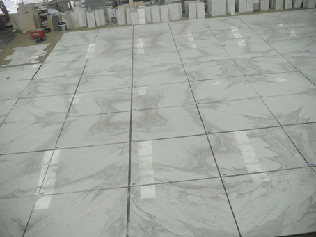 Volakas Marble Floor