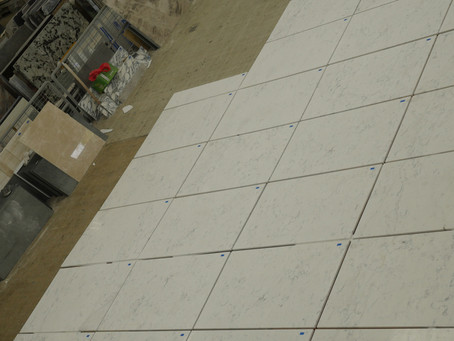 Marble Floor - Venus White Marble