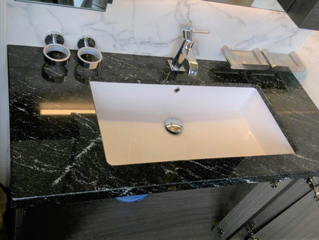 Nero Novalatto Granite Vanity Top