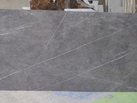 Ceramic Tile Slab - Pitra Grey  - Suitable for Bathroom Wall. $110/ m2 (slab size : 2.6 X 1.2m )