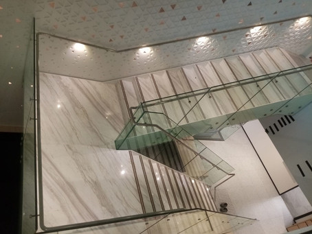 Staircase - Volakas Marble