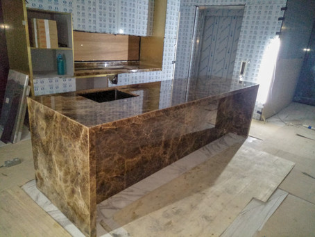 Counter Top - Cola Onyx