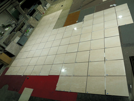 Marble Floor Tiles - Hermes Cream Marble