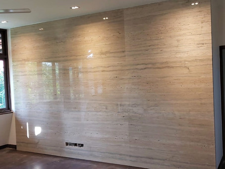 Feature Wall - Classico Travertine