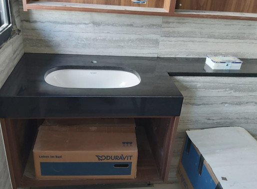 Vanity Top - Black Granite