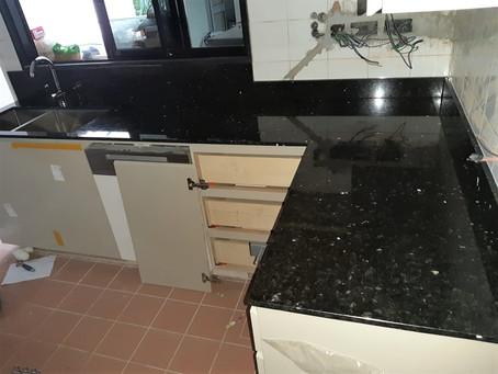 Emerald Pearl Granite - Kitchen Top