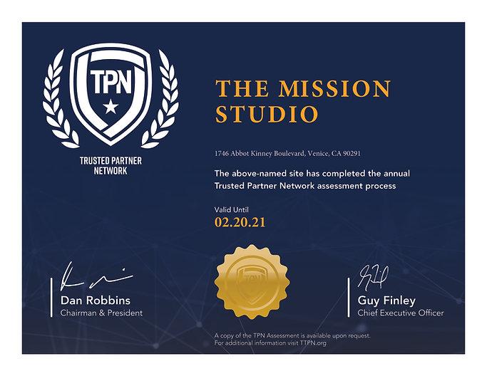The Mission Studio - HR CoAC (Exp. 02.20
