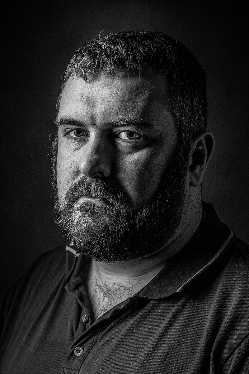 'Paul' by Michael Carbery (10 marks)  -  Focus Photography Club