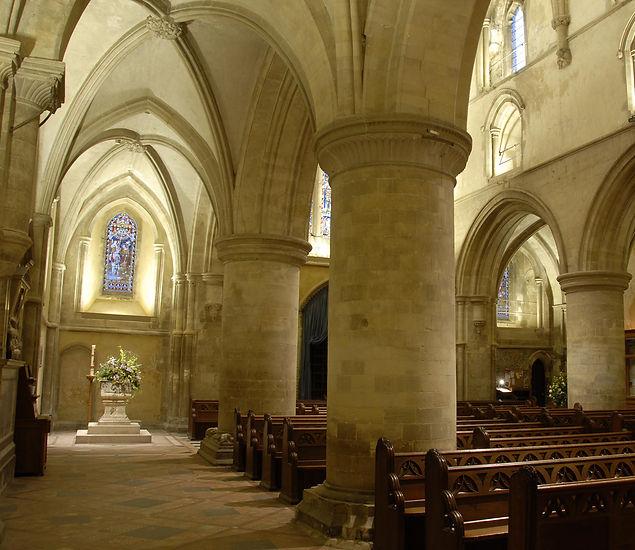 St Cross Church, Seymour and Bainbridge, conservation architect
