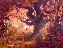 The Sycamore in Autumn