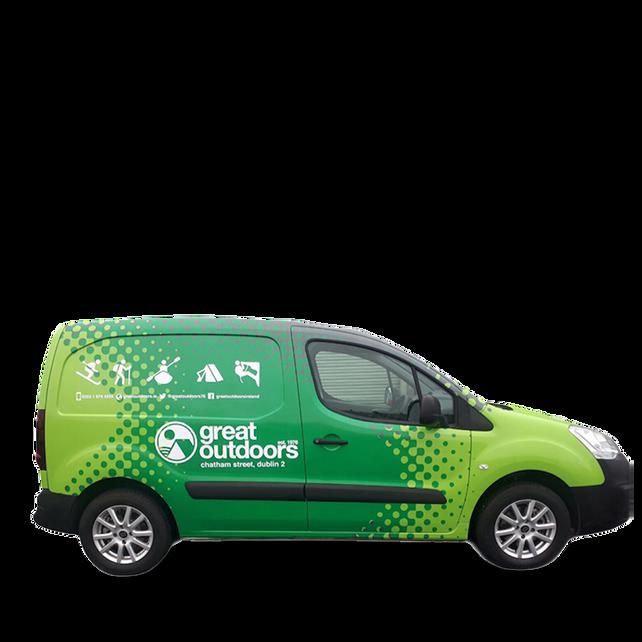 Full Wrap - Small Van