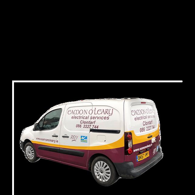 Half Wrap - Small Van