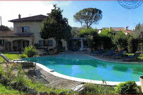 MOUGINS Maison T4 105 m² et Appartement T2 34 m² Piscine  (06250)