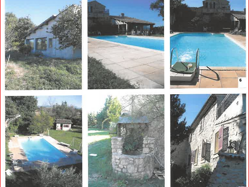 LE PUY SAINTE REPARADE Maison T7 environ 250 m² Piscine (13610)