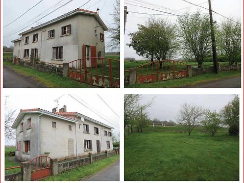COUX Maison T6 133 m² Jardin (17130)