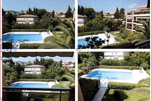 ANTIBES Appartement T2 47 m² Terrasse Garage Piscine collective  (06160)