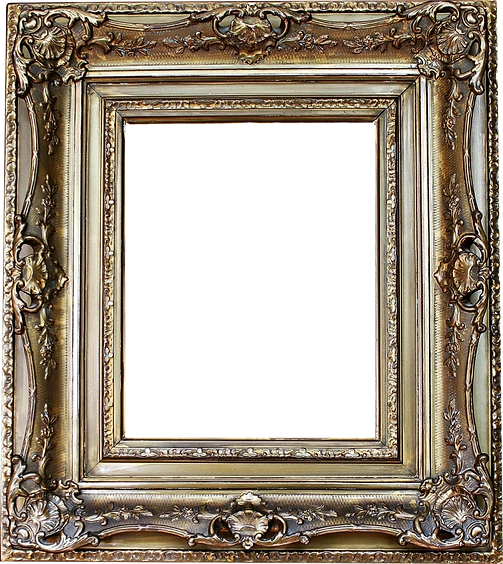 Beautifully detailed picture frame