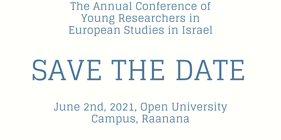 The Israeli Young Researchers in European Studies Annual Conference
