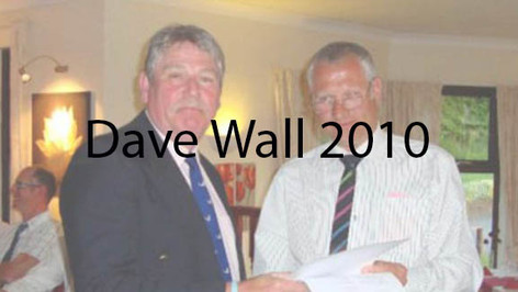 Dave Wall 2010