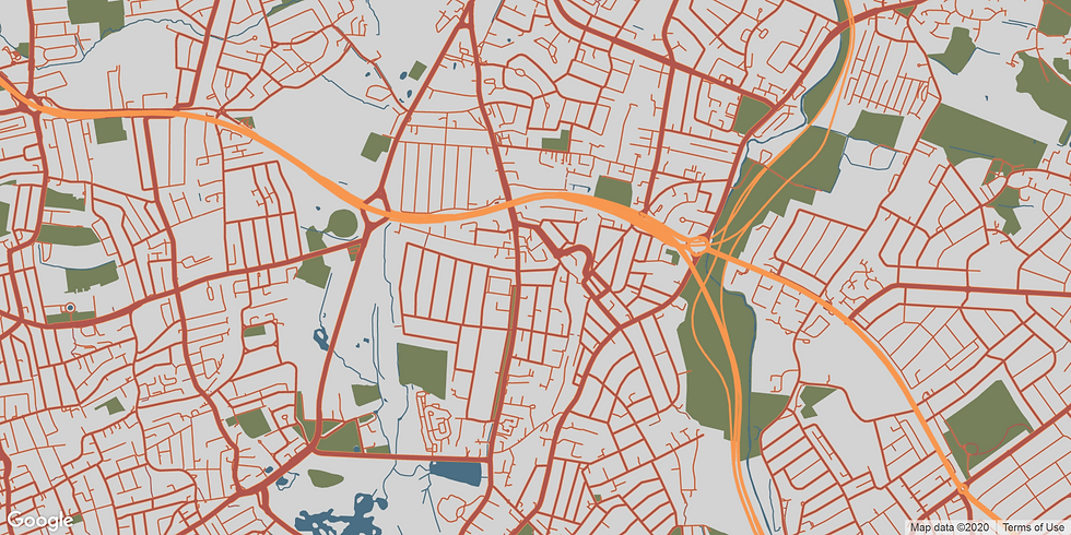 South Woodford Map.png