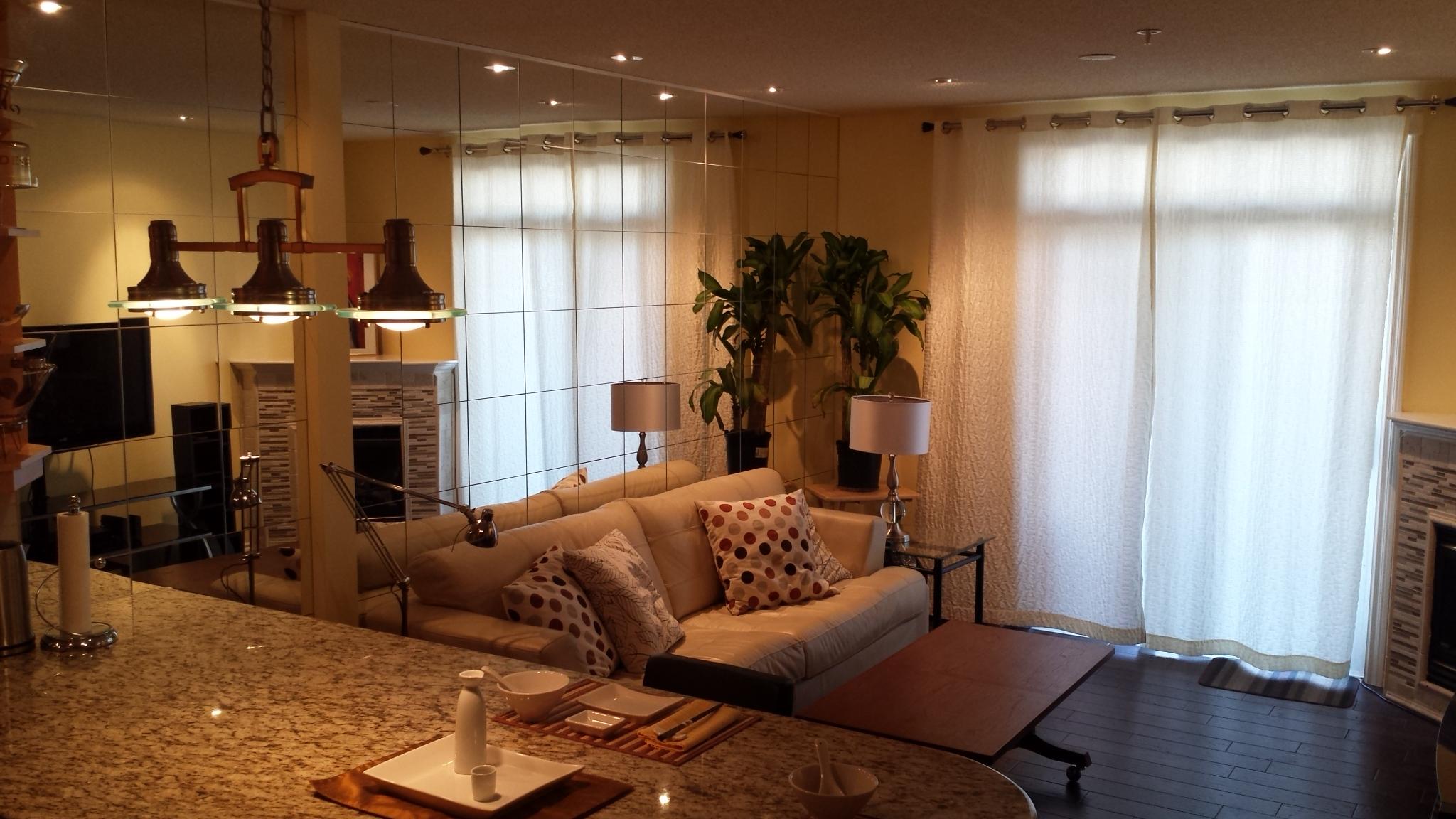 Unit 204 Living Room 2