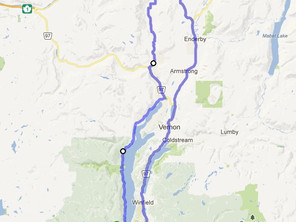 Route ID: BC01 Westside Rd / Vernon