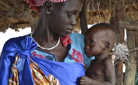 More than 60% of the South Sudanese face severe hunger.