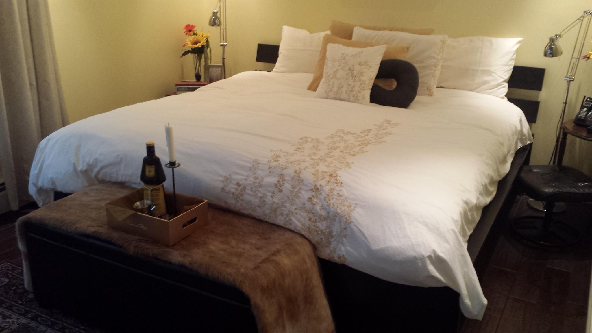 Unit 204 - Master Bedroom 2