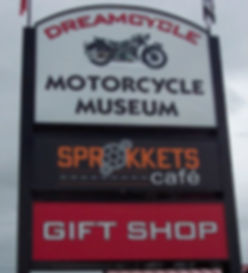 DREAM CYCLE MOTORCYCLE MUSEUM AND SPROCKETS CAFÉ