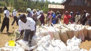 Kenyan Families Received Aid!
