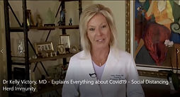 Dr Kelly Victory, MD - Explains Everything about Covid19 - Social Distancing - Herd Immunity