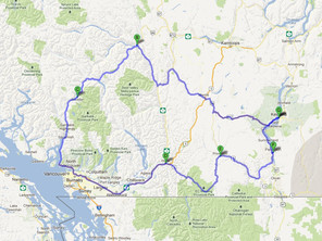Route ID: BC05 Whistler / Gold Rush Trail