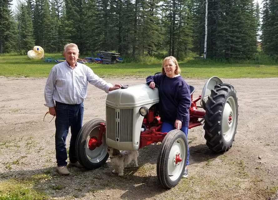 John and Beverly Bossuyt, farmers born and raised.