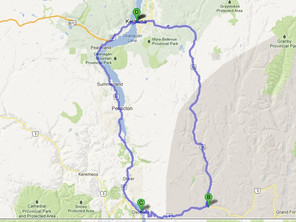 Route ID: BC02 Southern Okanagan / Penticton