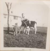 John growing up among crops and livestock