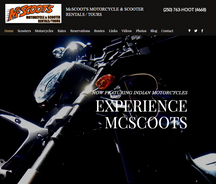 McSCOOT'S MOTORCYCLE & SCOOTER RENTALS / TOURS