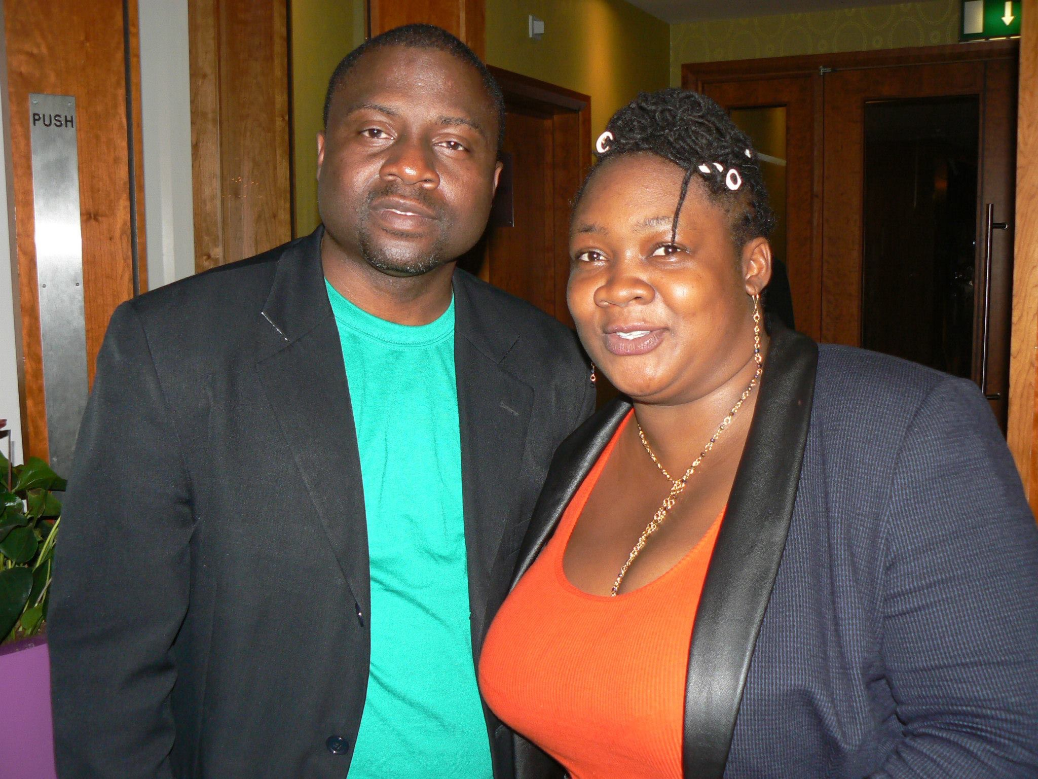 With Pricess-Nigeria Female Comedian