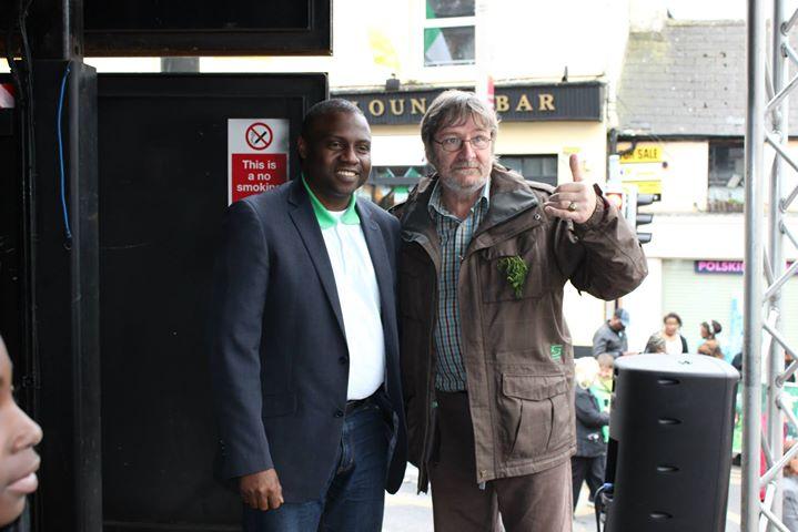 With Former Mayor Frank Snowe