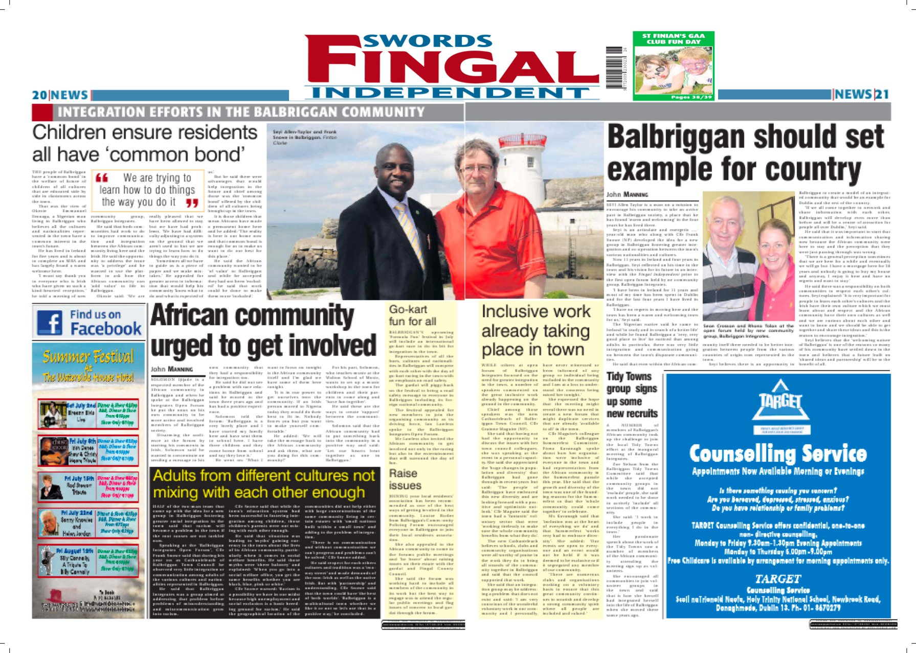 Balbriggan Integrates