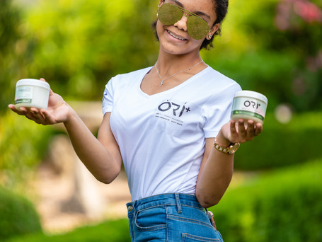 ORI + ORGANIC SHEA BUTTER BEAUTY CREAM PRODUCT LAUNCH