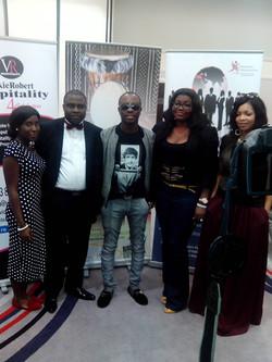 With Julius Agwu.