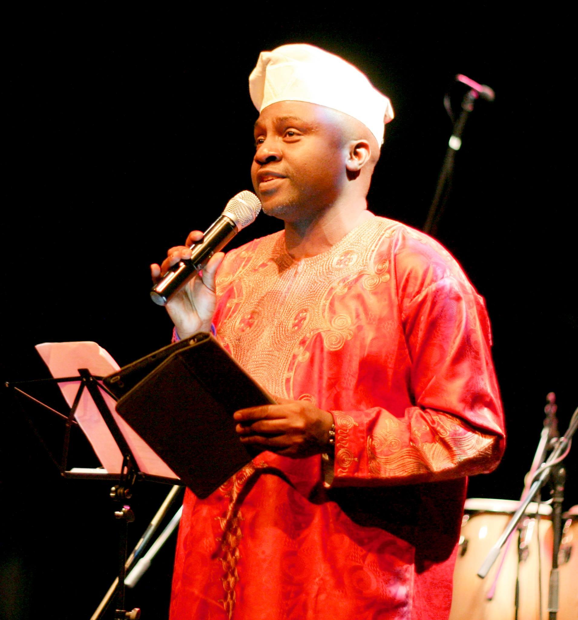 MC @ Oba Nla Concert. 2009