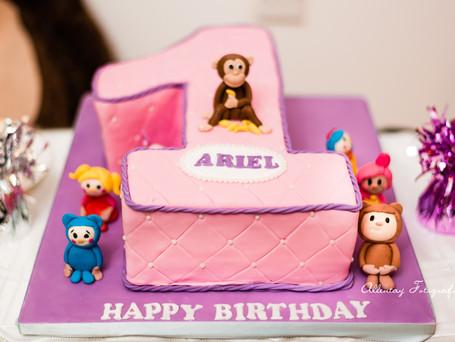 ARIEL 1ST BIRTHDAY