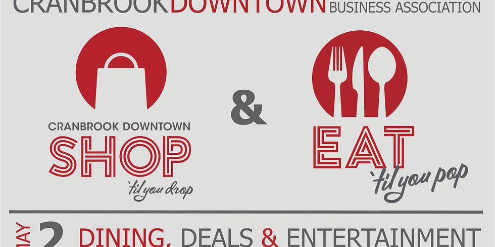 Shop Til you Drop, Eat til You Pop