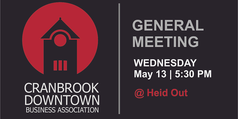 May General Meeting