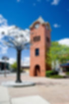 Spirit tree & Clock Tower - Chris Pullen