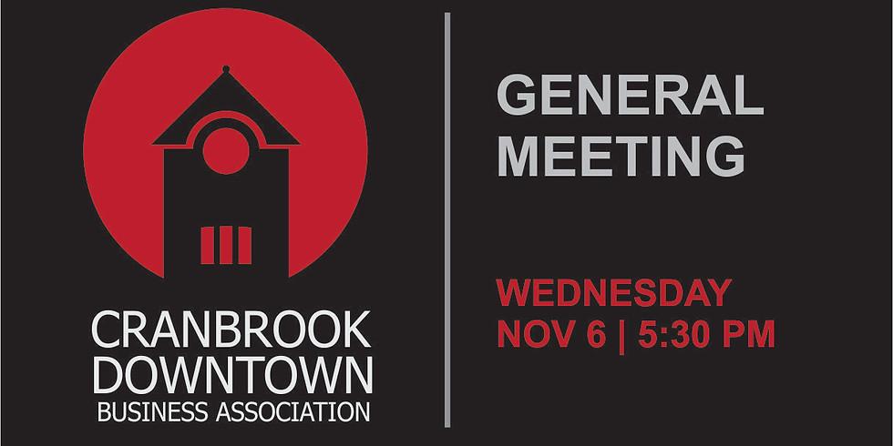 DBA General Meeting