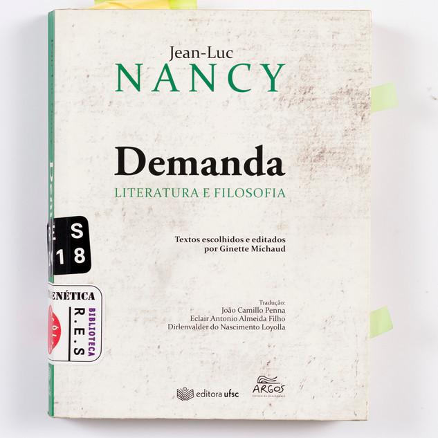 Demanda, Jean Luc Nancy