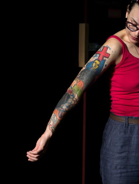Tatuagem Gabi Celan