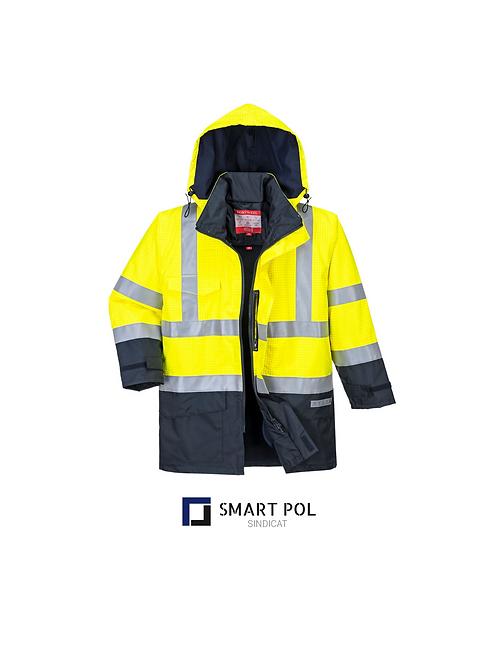 Jacheta de ploaie Bizflame HiVis Protectie Multipla.